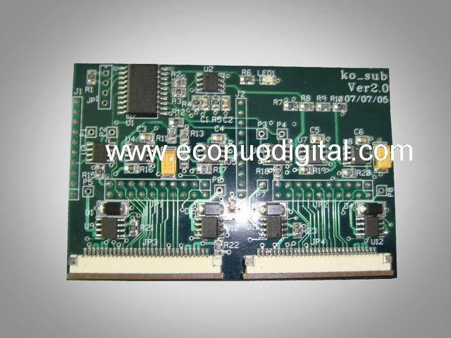 EJ10095  JHF transfer board for Konica